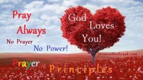 """Prayer principles"""