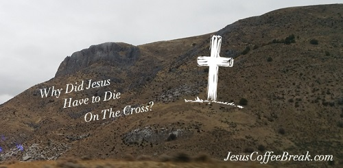 Why did Jesus have to die on the cross